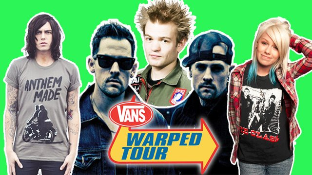 can you meet band members at warped tour
