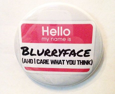 Blurryface 2.5 Inch Pinback Button
